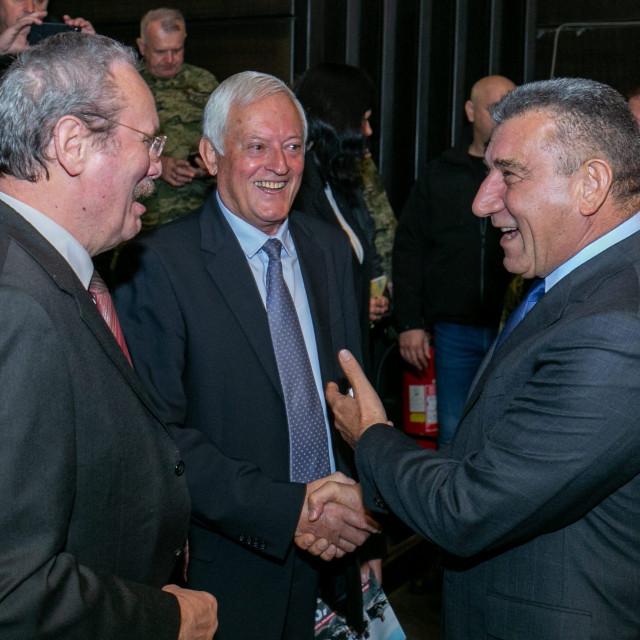 generali Krešimir Ćosić, Luka Džanko i Ante Gotovina