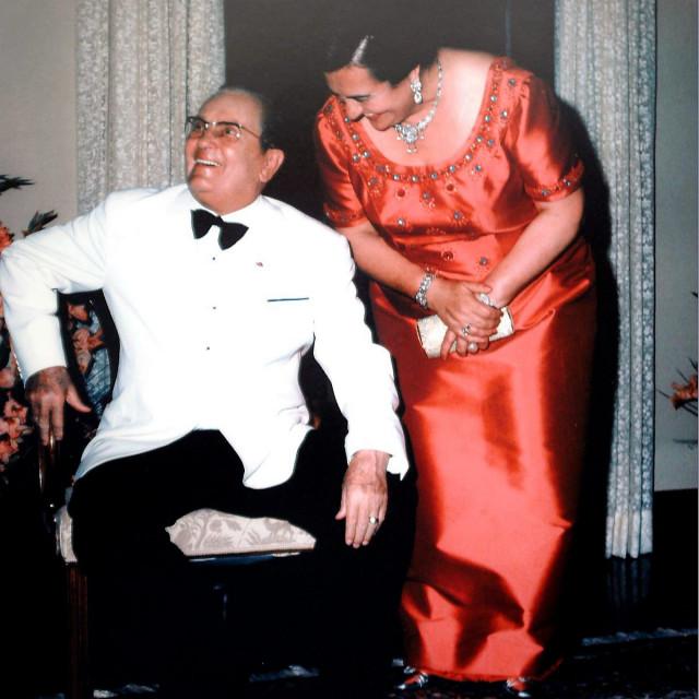 na fotografiji: Josip Broz Tito i Jovanka Broz