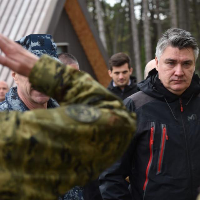 Zoran Milanović u Udbini