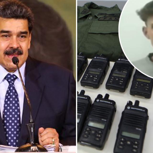 Nicholas Maduro, osobne iskaznice uhićenih osoba i Luke Denman u krugu