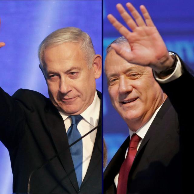 Benjamin Netanyahu i Benny Gantz