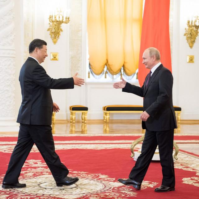Xi Jinping i Vladimir Putin