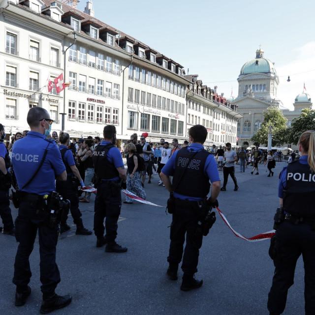 Prosvjed u Švicarskoj