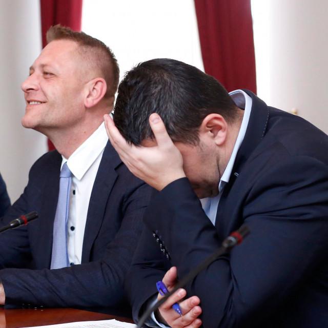 Krešo Beljak i Nikola Grmoja