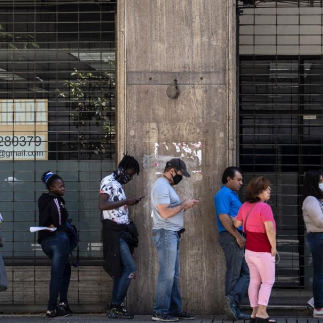 Red za nezaposlene, ilustracija