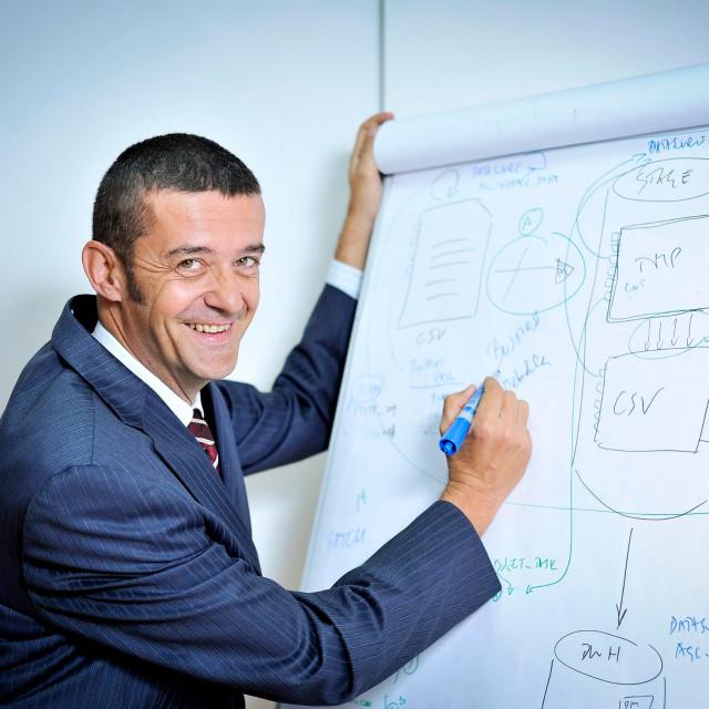 Dražen Orešćanin, predsjednik uprave tvrtke Poslovna inteligencija
