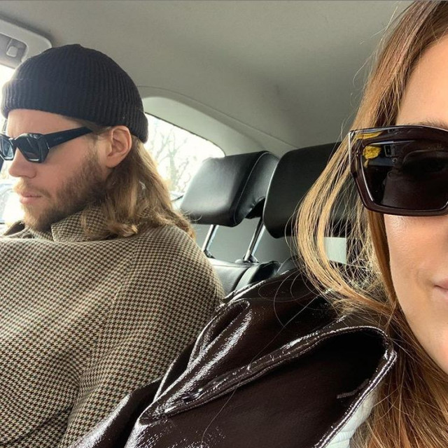 Mikkel Hansen i njegova surpuga Stephanie Gundelach