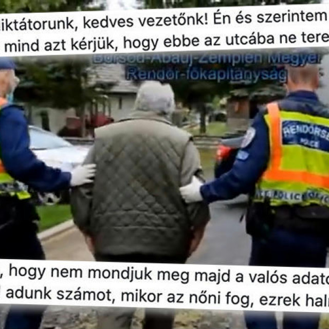 Policija privodi Andrása nakon što mu je u stan upala u 6 sati ujutro