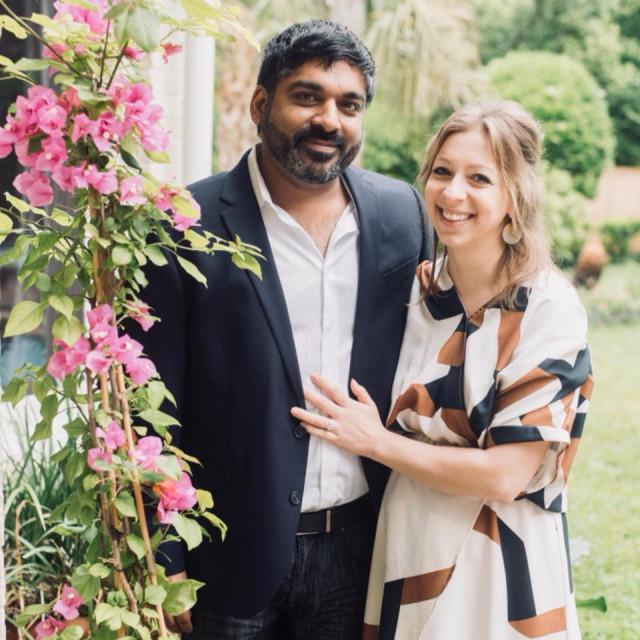 Maria Galitzine sa suprugom