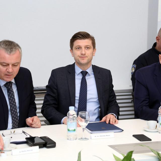 Sastanak ministra Zdravka Marića s poslodavcima o mjerama Vlade zbog posljedica koronavirusa