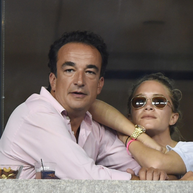 Olivier Sárközy i Mary-Kate Olsen