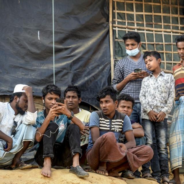 Rohinje u kampu Cox's Bazar