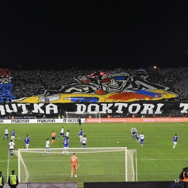 Prizor s poljudskog derbija Hajduka i Dinama