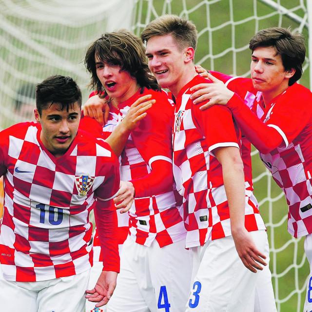Andrija Balić i Ante Ćorić u dresu reprezentacije