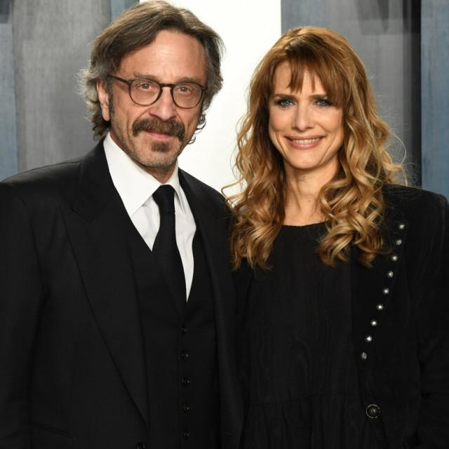 Marc Maron s partnericom na partyju Vanity Faira poslije Oscara ove godine