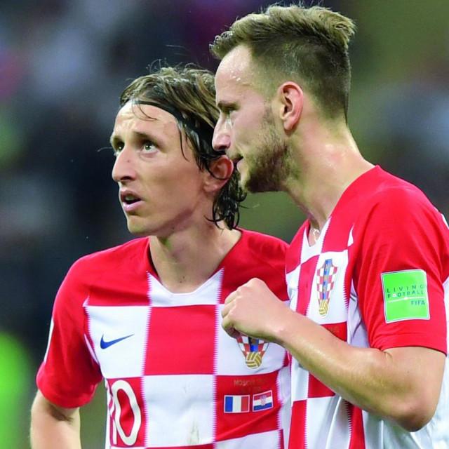 Luka Modrić i Ivan Rakitić predvodili su Hrvatsku do finala u Rusiji