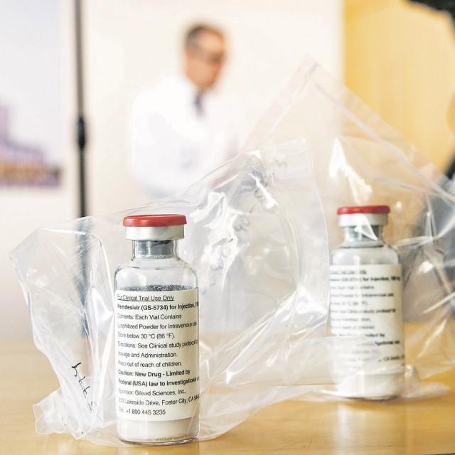 Lijek američke farmaceutske kompanije Gilead Sciences imao je vrlo ohrabrujuća prva testiranja