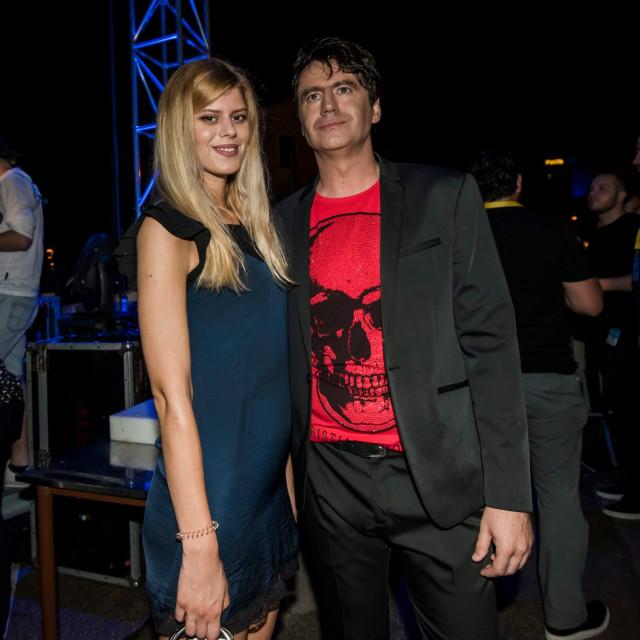 Boris Novković sa suprugom