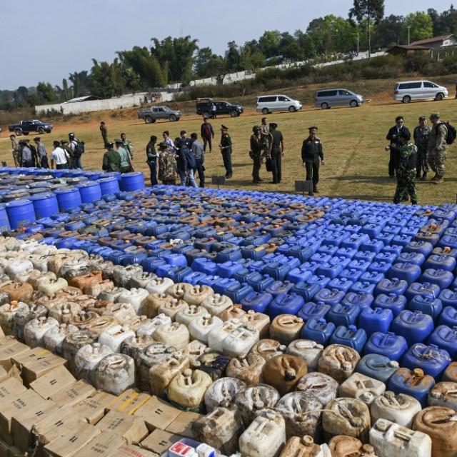 Zapljena droge u Mjanmaru ranije ovog mjeseca