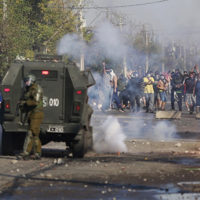 Neredi u Čileu