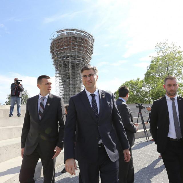 Ivan Penava i Andrej Plenković