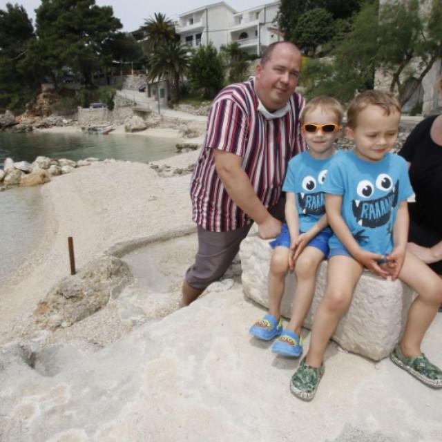 Ivo Heger s obitelji