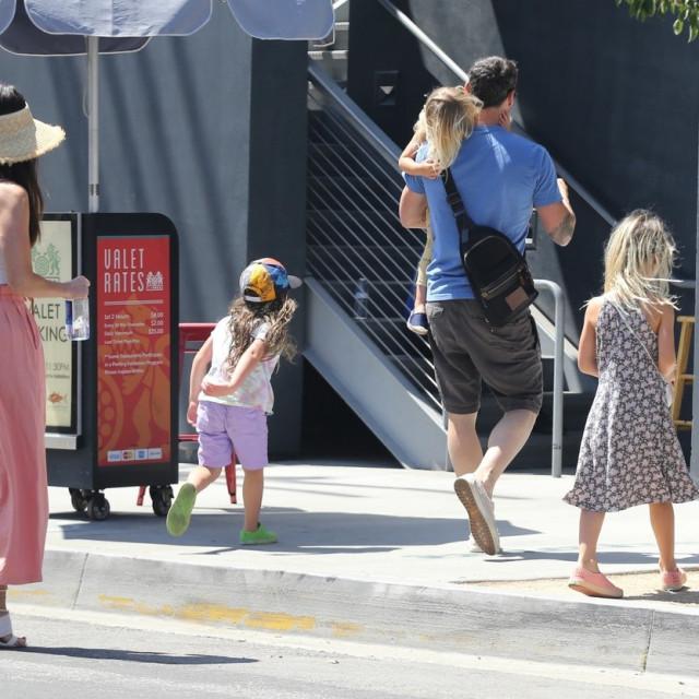 Megan Fox i Brian Austin Green sa djecom