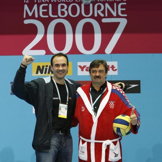 Dopredsjednik HVS-a Perica Bukić i Ratko Rudić