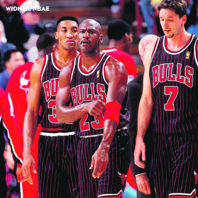 Pippen, Kukoč i Jordan