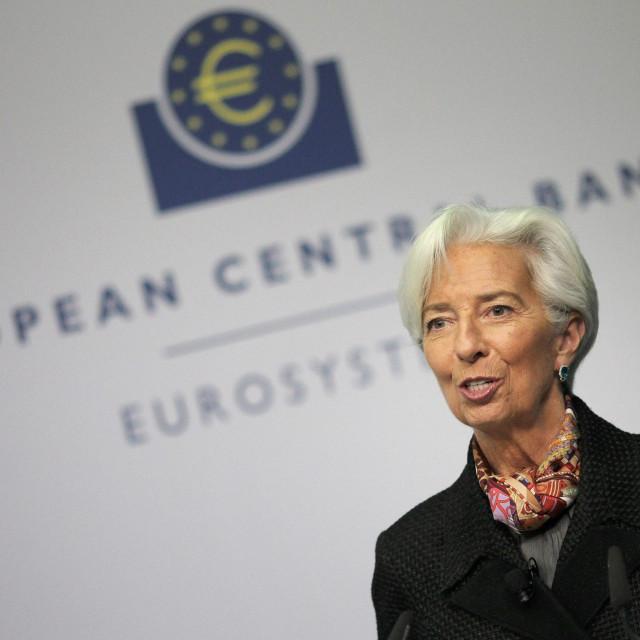 Christine Lagarde, predsjednica Europske središnje banke