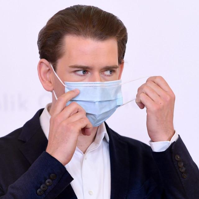 Austrijski kancelar Sebastian Kurz