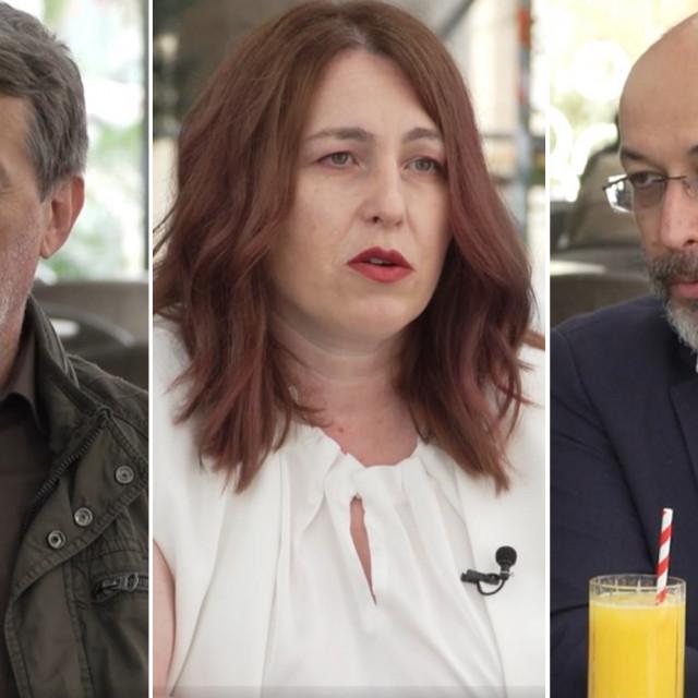 Ivica Relković, Sonja Hodak i Krešimir Macan
