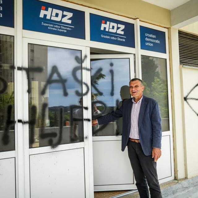 Predsjednik županijske organizacije HDZ-a Nediljko Dujić