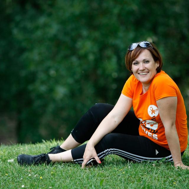 Mirjam Jukić, predsjednica Udruge oboljelih od multiple skleroze MS TIM