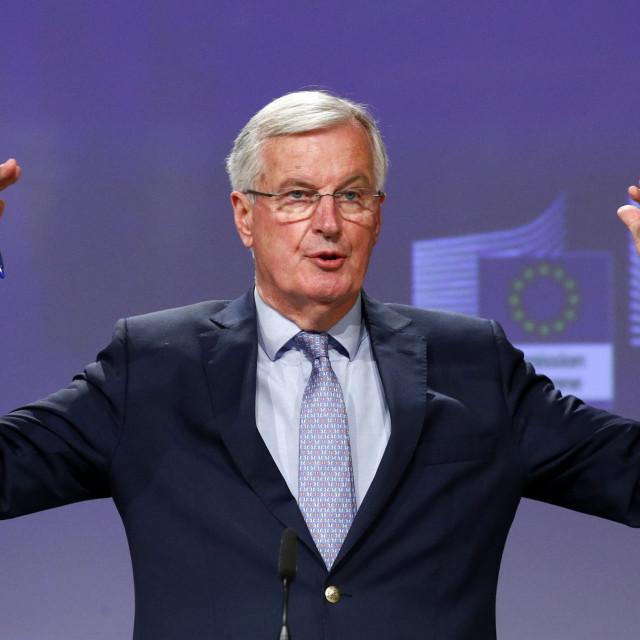 Michel Barnier, glavni pregovarač EU s Londonom