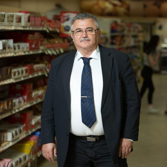 Bosiljko Stanić, predsjednik Uprave i vlasnik trgovačkog lanca Boso
