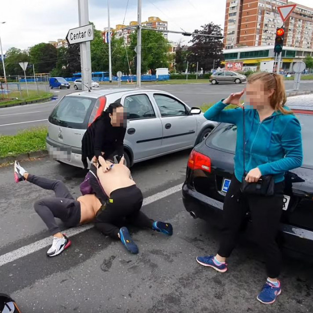 Tučnjava u Novom Zagrebu