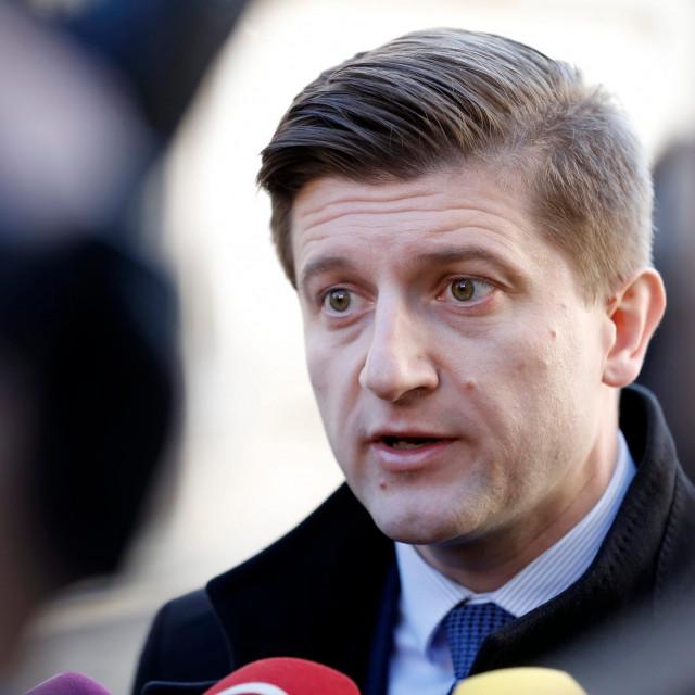 Finance Minister Zravko Maric