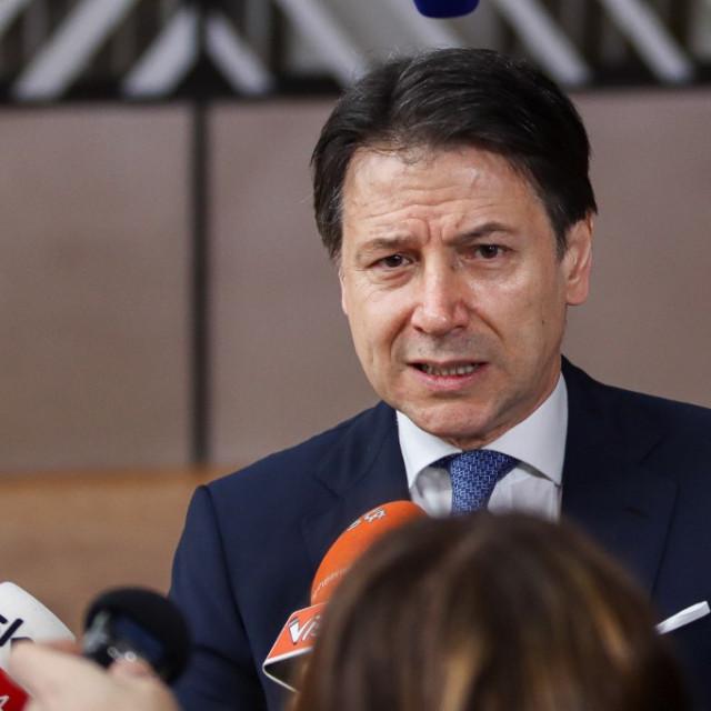 Giuseppe Conte, talijanski premijer