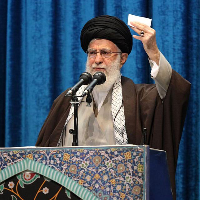Duhovni i državni vođa Islamske Republike Iran, ajatolah Ali Khamenei