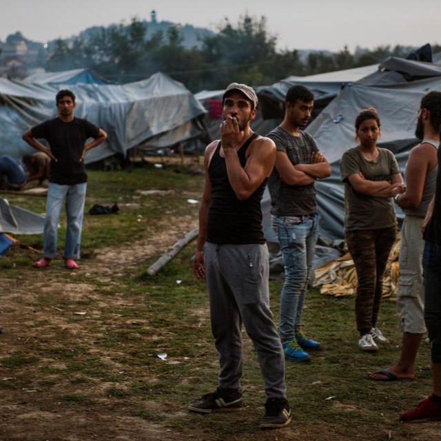 Migranti u Velikoj Kladuši