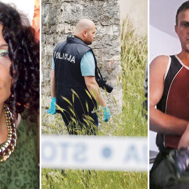 Majka ubijenog dječaka Chiara Rojnić, policajac na očevidu, ubijeni dječak Denis s ocem Rašidom Pašićem