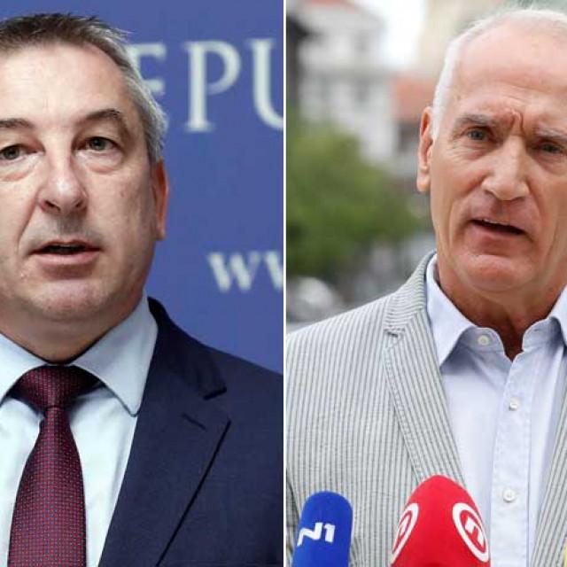 Predrag Štromar i Boris Blažeković