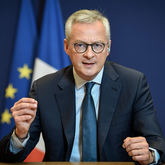 francuski ministar financija Bruno Le Maire