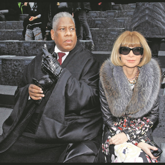 André Leon Talley i Anne Wintour