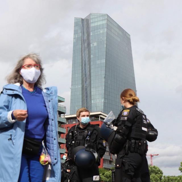 Sjedište Europske središnje banke u Frankfurtu