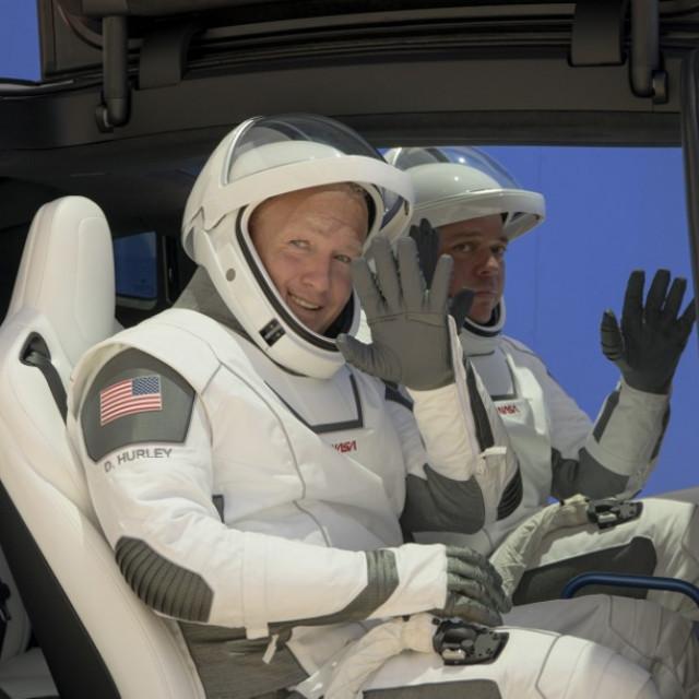 Astronauti Douglas Hurley i Robert Behnken