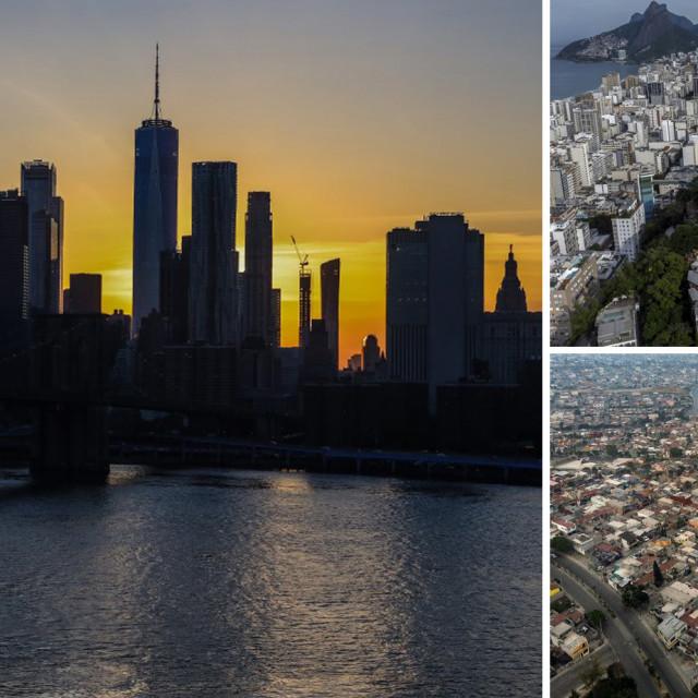 New York, Rio de Janeiro i Mexico City