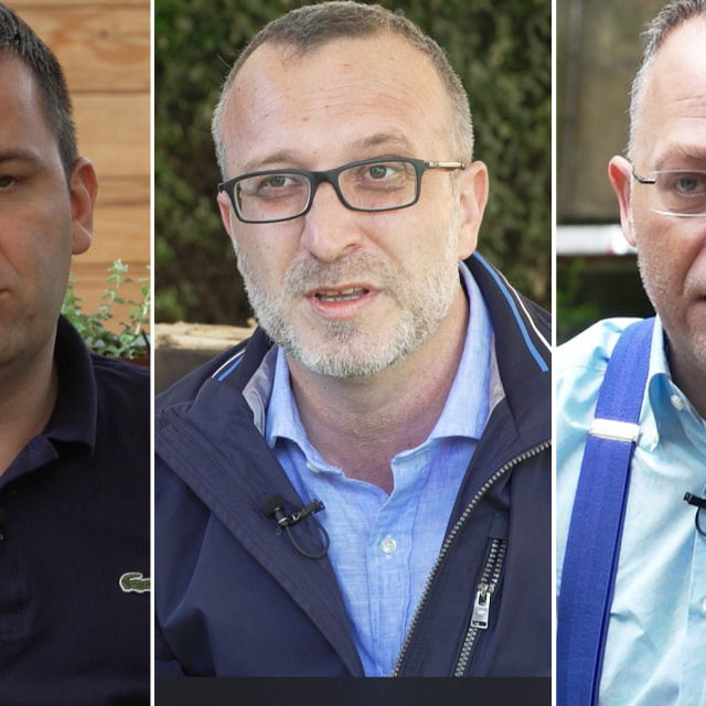 Dario Hrebak, Marko Sladoljev i Zlatko Hasanbegović
