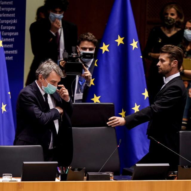 Predsjednik Europskog parlamenta David-Maria Sassoli